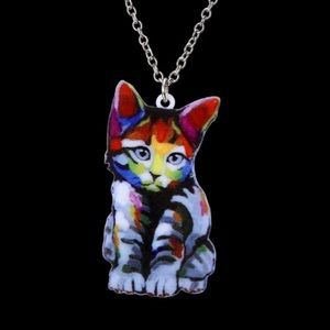 😺New list! 😺 Colorful artsy kitty